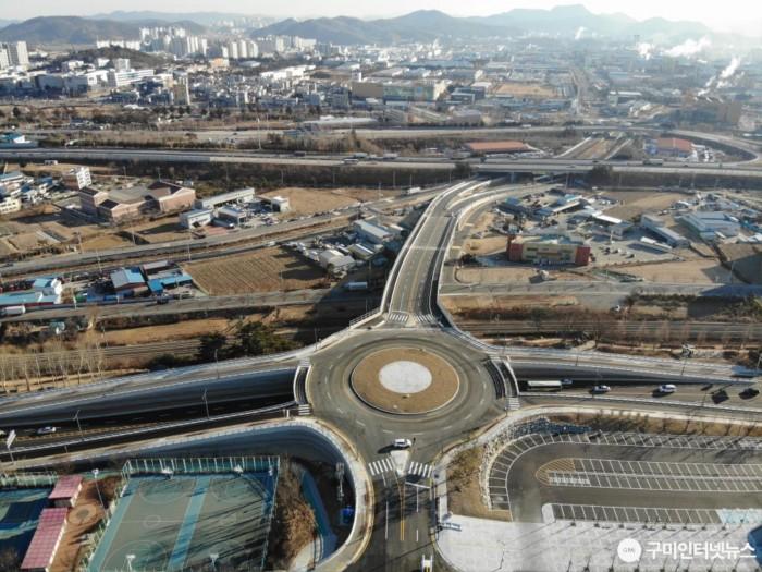 [도로과]수출탑~시민운동장 연결도로 개통3.JPG