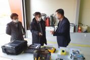 대구지방환경청장, 구미화학재난합동방재센터 현장 대응체계 점검!